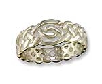 Open Knotwork Ring R59SS