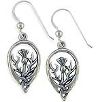 Sterling Thistle Earrings SW3139TE