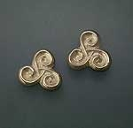 Spiral post earrings SW4111E