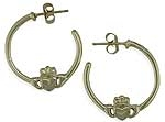 Claddagh Hoop Earrings SW3173
