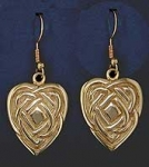 Maggie's Heart Earrings SW405E