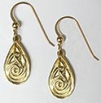 Celtic Drop Earring 4110E