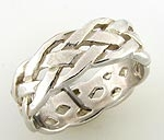 Celtic Open Weave Ring