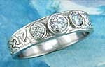 Celtic Ring   R153Plat