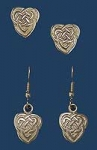 Heart Knot Earrings