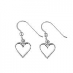 Open Heart Earrings SW388E