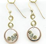 14K Gold Earrings SW491H