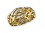 Open Knotwork Ring R59Plat