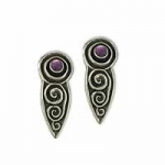 Celtic Spiral Earrings