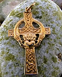 Claddagh Cross in 14K SW4218