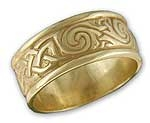 Dal Riada Celtic Ring w/border
