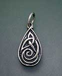 Celtic Drop Pendant SW3110P