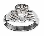 Claddagh Ring in Sterling Silver CR3