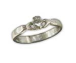 SM Claddagh Ring in Sterling CR4