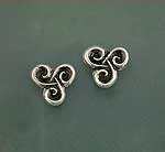 Spiral post earrings SW3111E