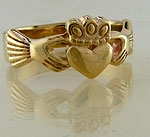 Claddagh Ring 14K Gold C14-15