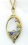 Celtic Pendant in 14K Gold SW4169H