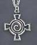 Spiral Celtic Cross  3121