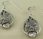Claddagh & Shamrock Earrings SW3209E