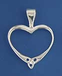 Simple Heart Pendant SW386