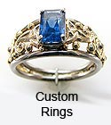 Custom Designed Celtic Rings
