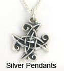 Sterling Silver Celtic Pendants necklace